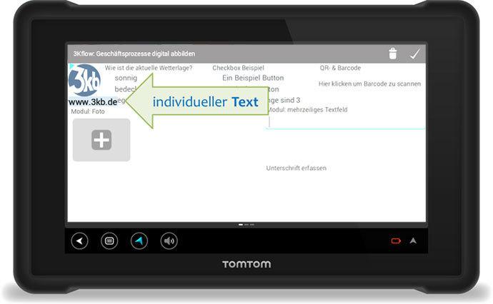 3Kflow Geschäftsprozesse digital abbilden individueller Text