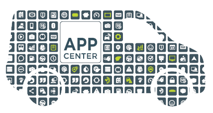 Auto Icon für das App Center